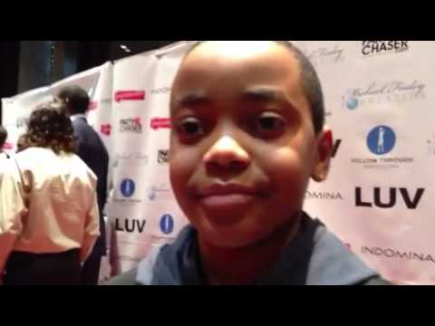 Michael Rainey Jr on the premier of LUV