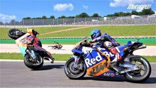MotoGP 19 CRASH COMPILATION   TEN MINUTE #63
