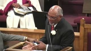 Rev. Dr. Edward L. Branch at (KC) Mount Zion Bapti