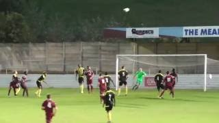 Chesham United Reserves 0 vs 2 Hillingdon Borough (Division1 Cup) 7th Sep 2016 (First Half)