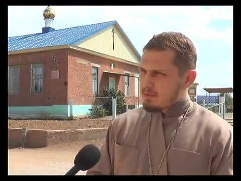 Установка купола  Храм Святых апостолов Петра и Павла г Ахтубинск