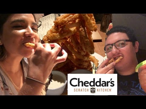 EATING AT CHEDDARS