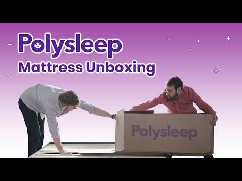 Polysleep Mattress Unboxing   The Best Canadian Mattress? (2019)