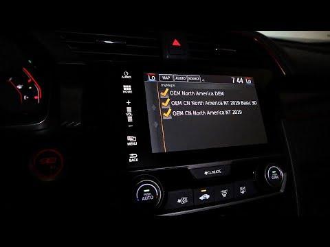Repeat Honda Civic Type R FK8 - Factory Navigation Maps