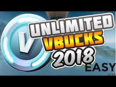 HOW TO GET FREE VBUKS WORKING 2018