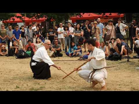 UBC Classical Bujutsu Club demo @ 2017 Powell Street Festival, Vancouver, BC, Canada