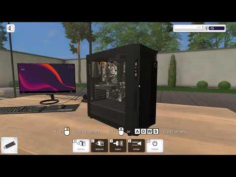 PC Building Simulator   Fractal Design Workshop Gameplay (PC Game)  
