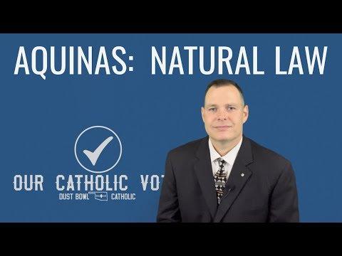 Aquinas:  Natural Law - Our Catholic Vote 005