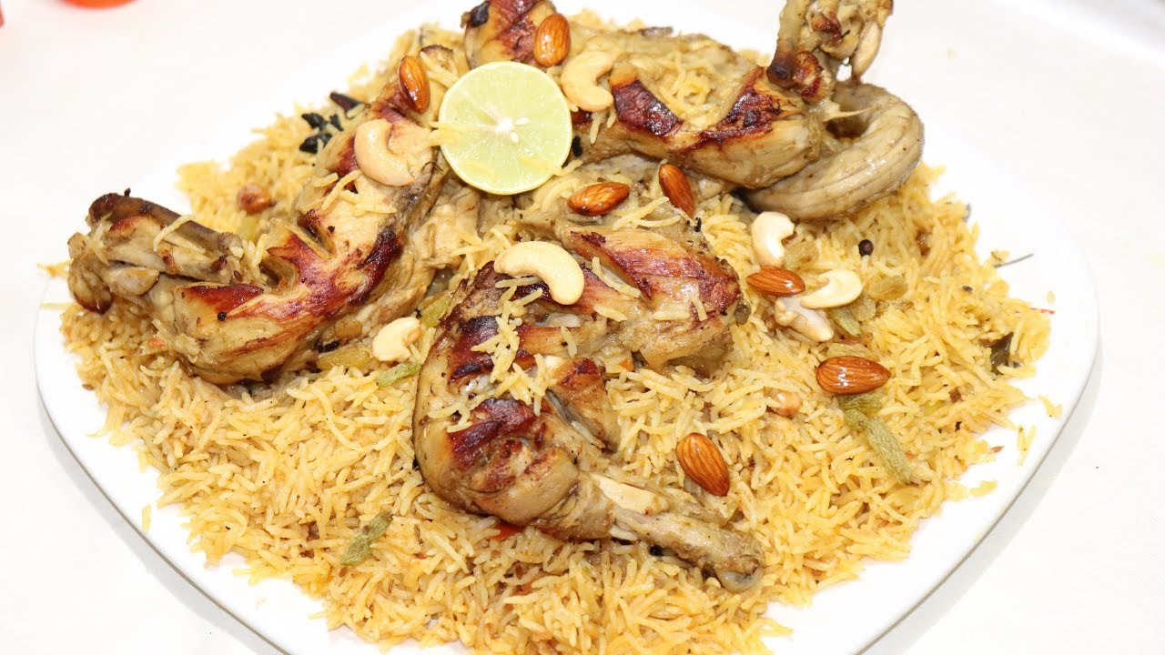 Chicken Kabsa Best Saudi Arabia Traditional Recipe Chicken Kabsa Youtube