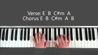 The More I Seek You - Piano Tutorial and Chords