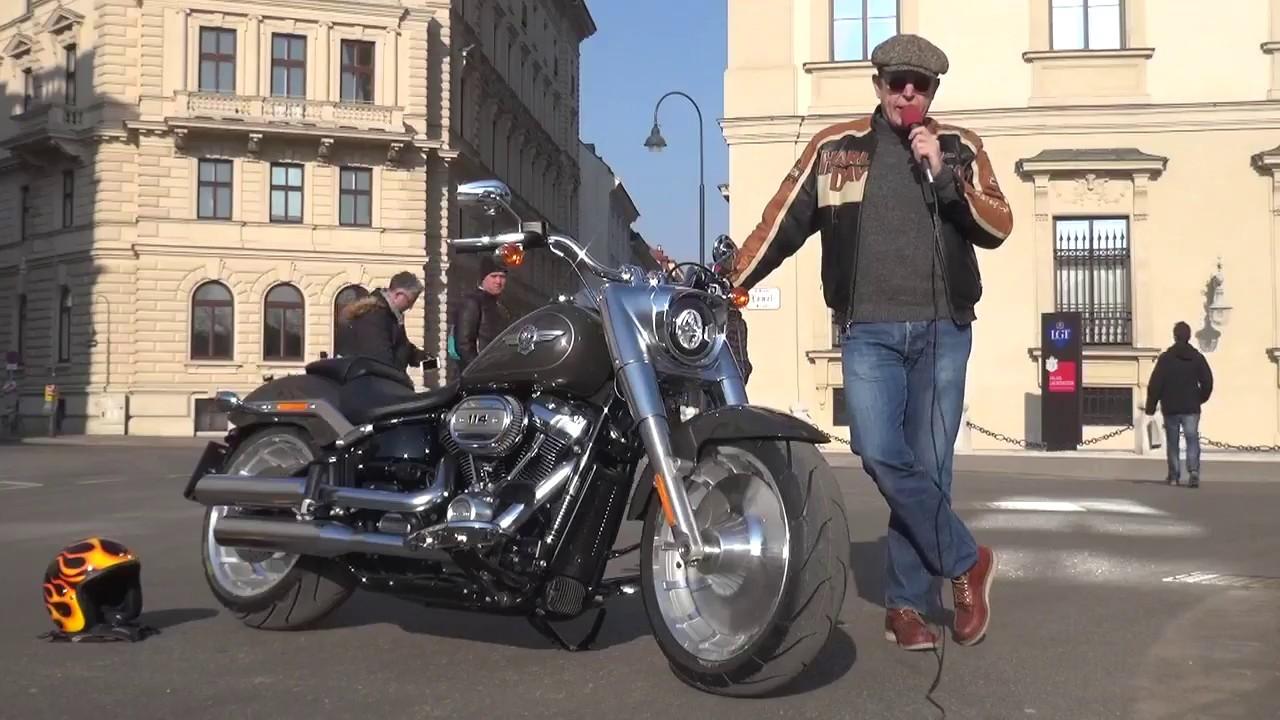Harley-Davidson Fat Boy 2018 - Erste Ausfahrt - Zonkos ...