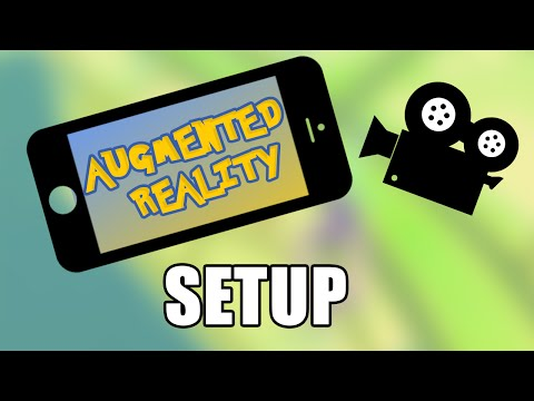 Setting up AR Scene • 1/4 • Augmented Reality (Vuforia) [Tutorial][C#]