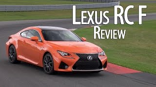 video thumbnail of Lexus RC F is no IS F - CCSR Version also in the works