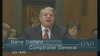 GAO: Comptroller General Testifies to U.S. Senate on GAO