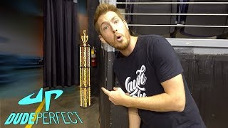 GOING BACKSTAGE AT DUDE PERFECT SHOW!