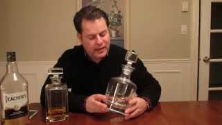 Assessing Whisky Decanters & Musings on Teacher's Highland Cream