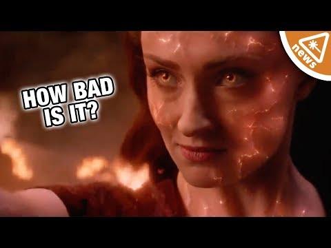 Is X-Men: Dark Phoenix the Worst X-Men Movie Ever? (Nerdist News w/ Jessica Chobot)