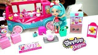 Mainan Anak Shopkins Jessicake Food Fair + Truck Ice Cream 💖 Surprise Egg Cantik Lucu Banget