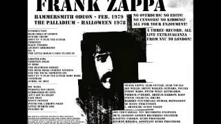 Frank Zappa -- Warts and All -- NYC & London, 1978-79