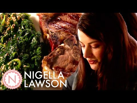 Nigella's Lamb Chops with Tahini Sauce