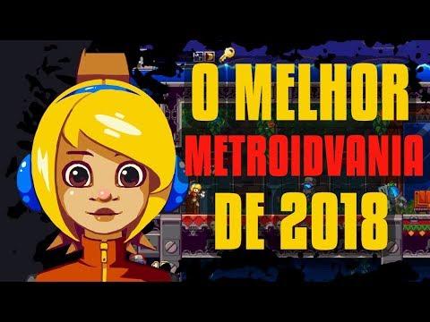 O MELHOR METROIDVANIA DE 2018!!! JOGO PARA PCS E NOTEBOOKS FRACOS