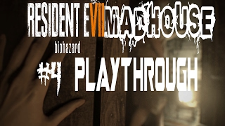 Resident Evil 7 Madhouse play through difficulty part 4 *RAGE QUIT*