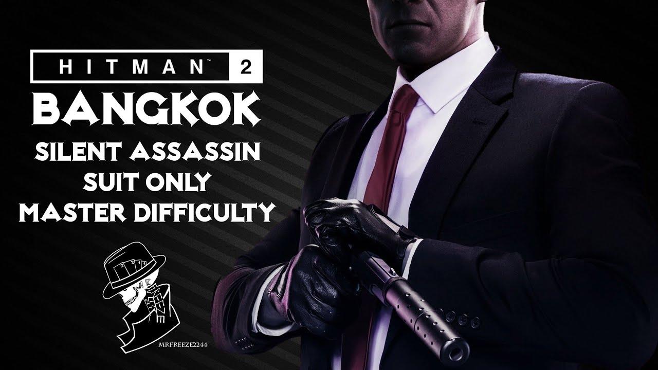 Hitman 2 Legacy Bangkok Silent Assassin Suit Only Master