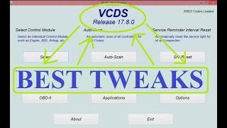 VCDS   Best Tweaks 2021