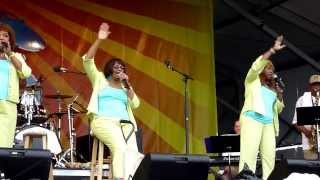 The Dixie Cups - Going To The Chapel - Live At 2010 New Orleans Jazzfest