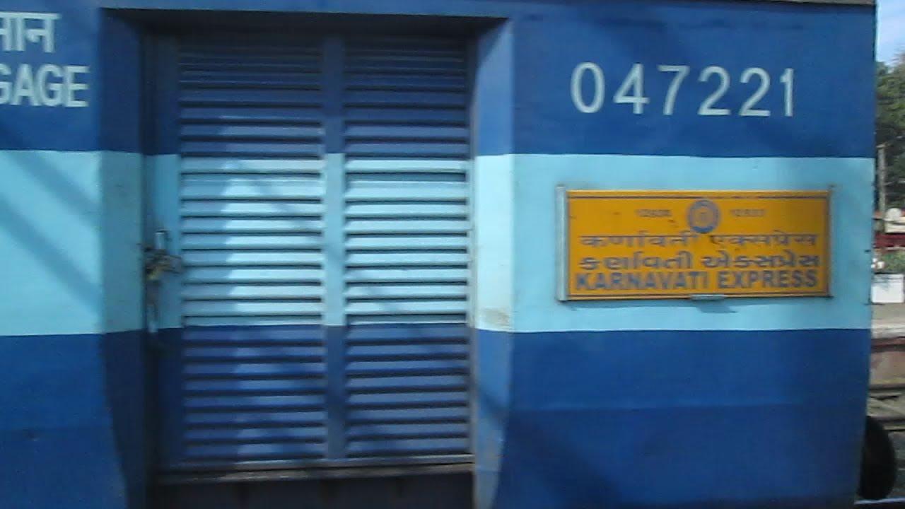 Indian Railways - KARNAVATI EXPRESS - THE ONLY TRAIN WITH MAXIMUM AC CHAIR CAR COACHES - YouTube & Indian Railways - KARNAVATI EXPRESS - THE ONLY TRAIN WITH MAXIMUM AC ...