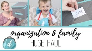 Huge Organization & Family Haul (feat. Hollar)