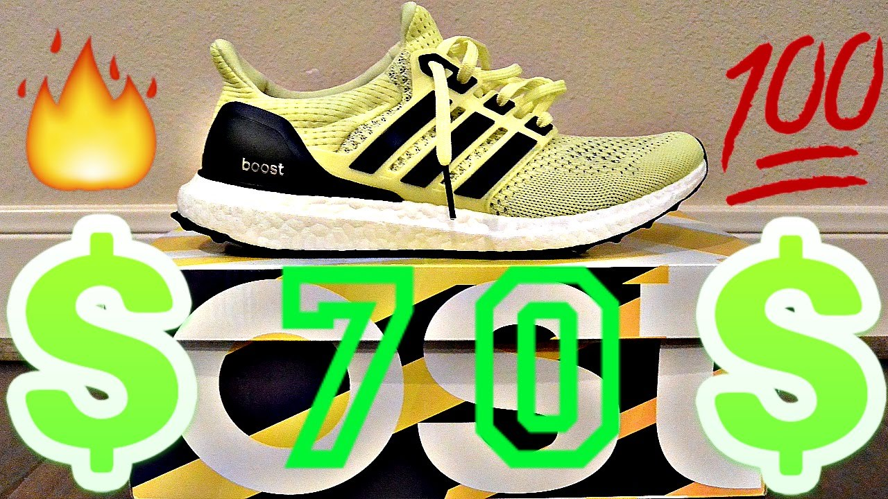 84033a6f8fec46 Ultra Boost for SUPER STEAL!!! Adidas Outlet Pickup - YouTube