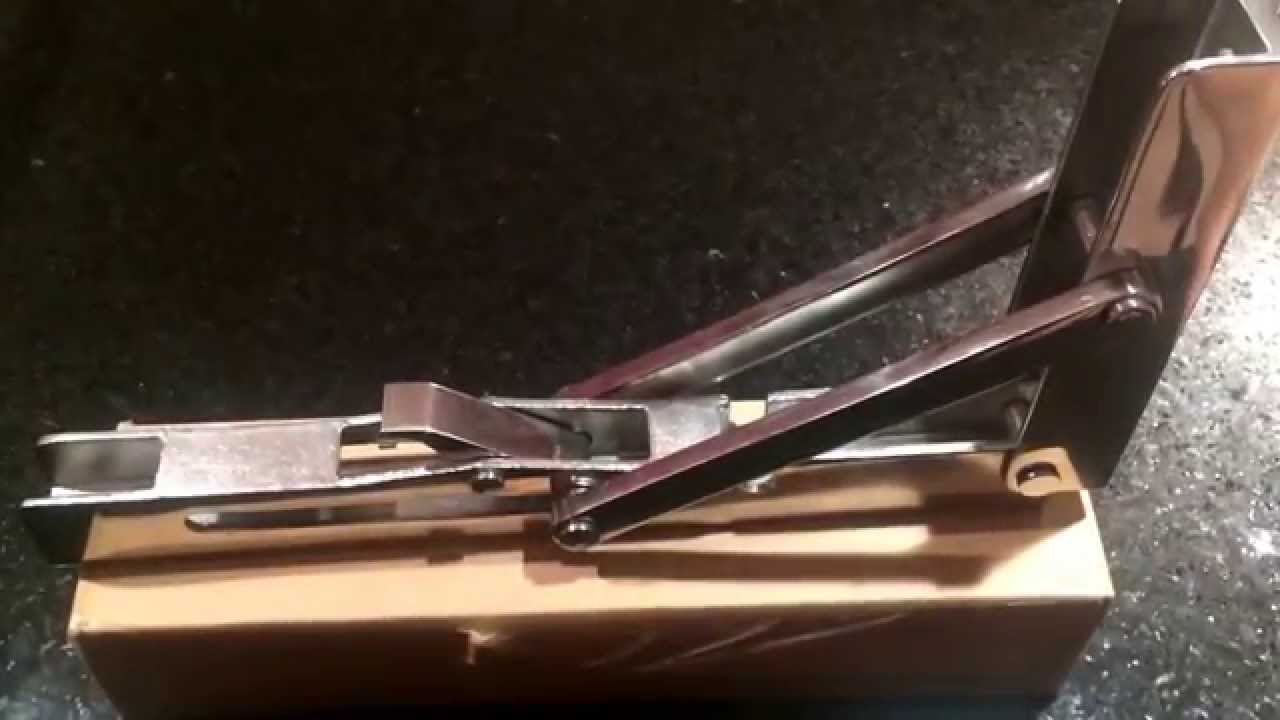 Boat building progress: fold-down seat hardware - YouTube