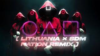 SQUID GAME × SUPRA - Lithuania & SDM Nation | REMIX