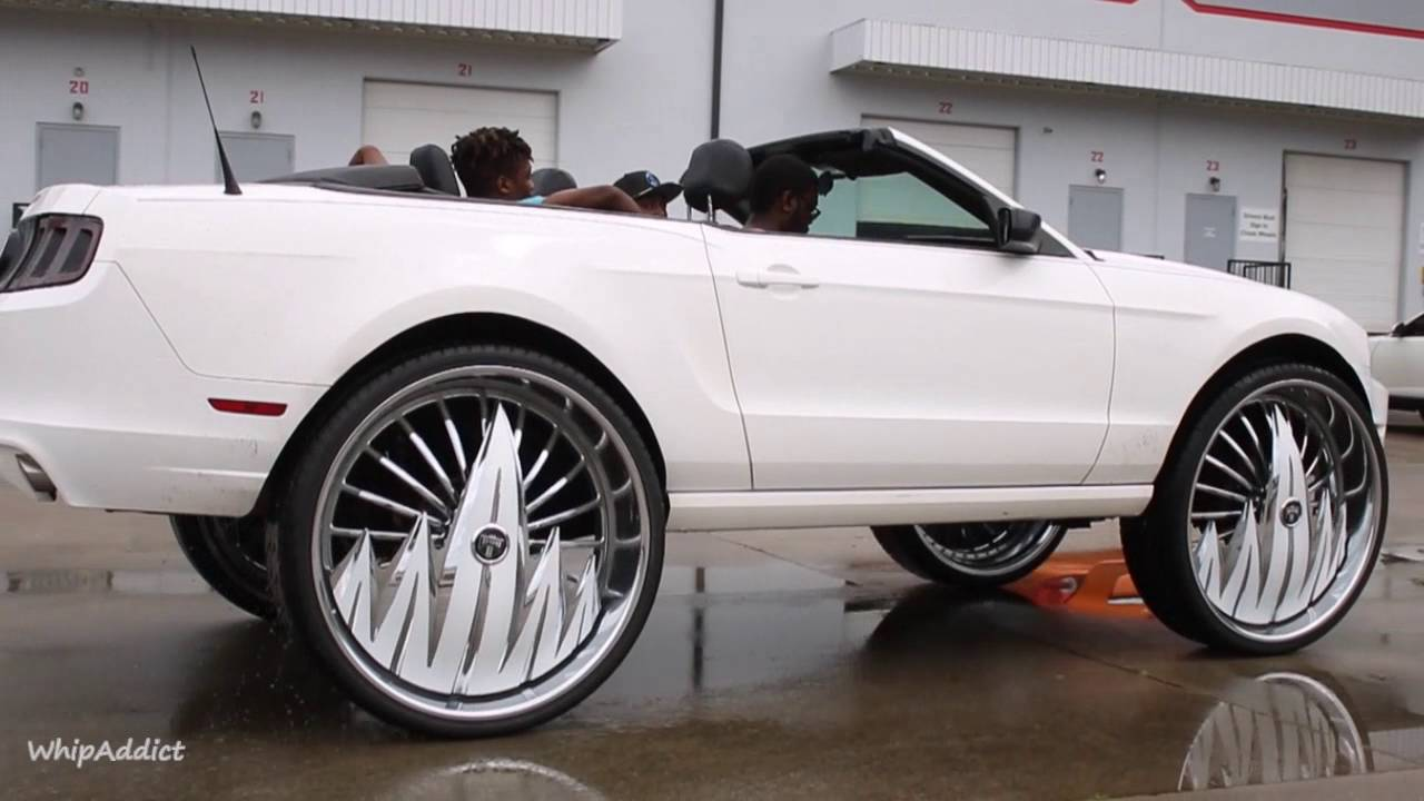 Whipaddict 2013 Ford Mustang Convertible On Dub F U 32s
