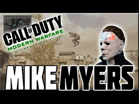 PROFESSIONAL MIKE MYERS PLAYER ON MODERN WARFARE REMASTERED!