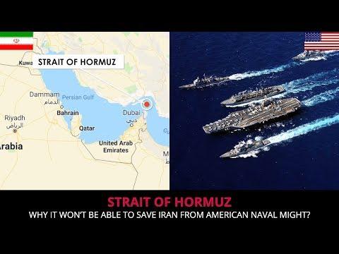 STRAIT OF HORMUZ - IT CAN'T STOP THE U.S NAVY !