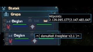 Darkorbit-Test of new demaner version. 2.147.483.647HP No clickbait!
