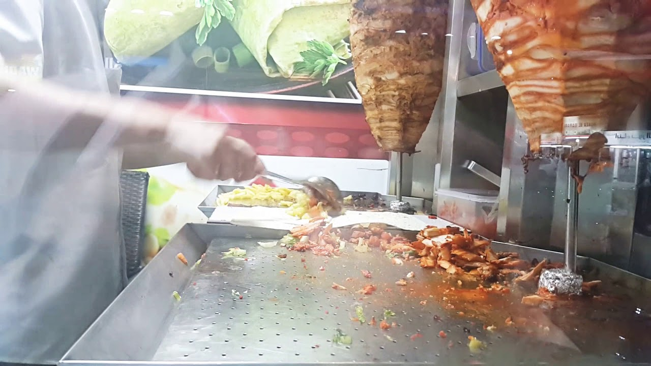 Yummy Afghan Chicken Shawarma In Dubai Afghan Pulow Restaurant Horl Al Anz