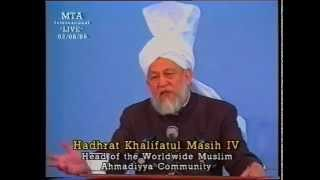 Friday Sermon 2 August 1996