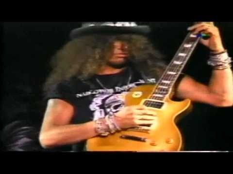 "Guns N Roses – ´´Slash Guitar Solo"" Live Argentina 92"
