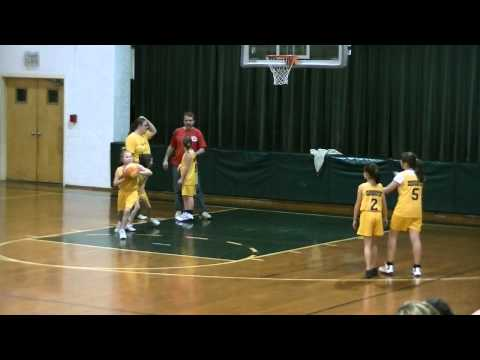Sparks Practicing Rodburn Elementary School Basketball Morehead Ky
