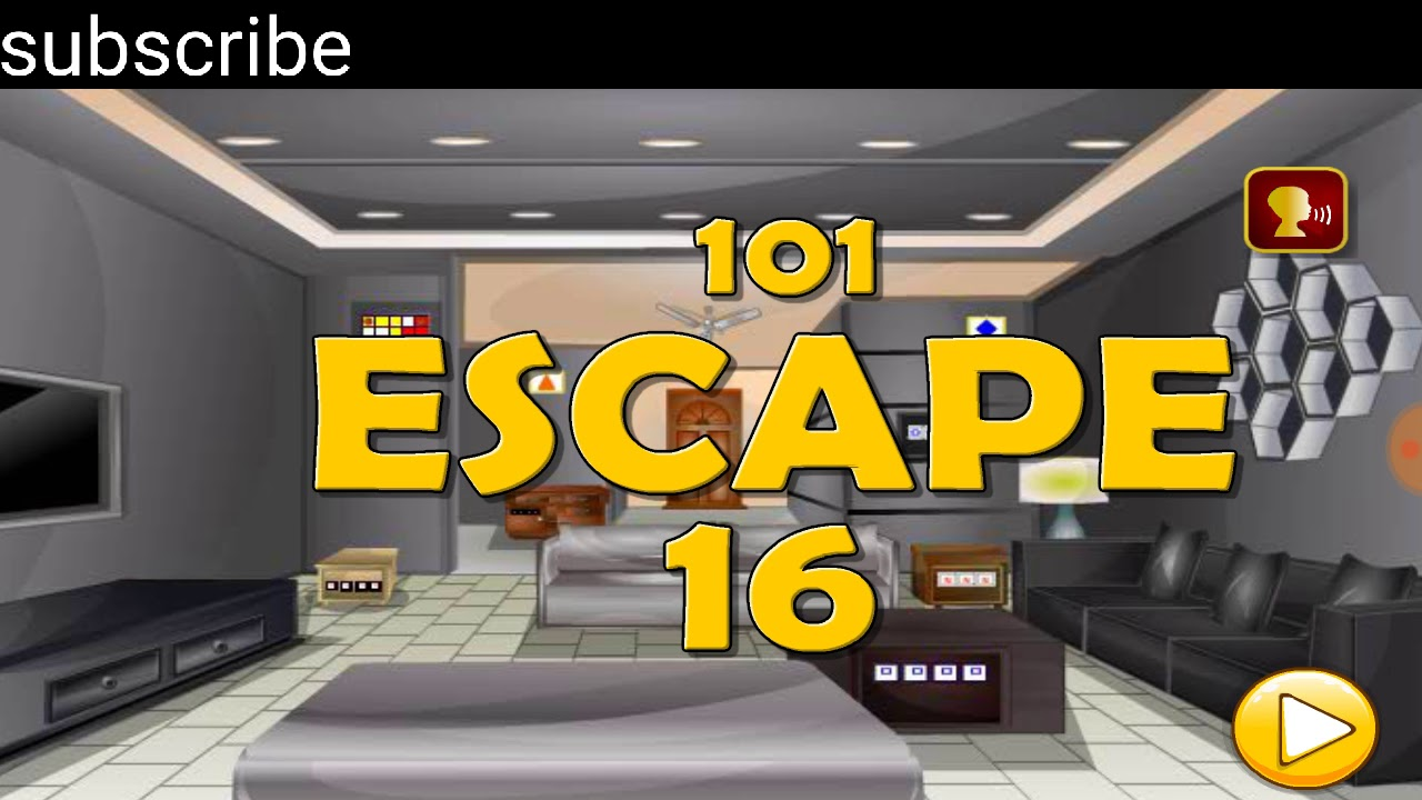 501 Free New Room Escape Games Level 16 Walkthough Up To