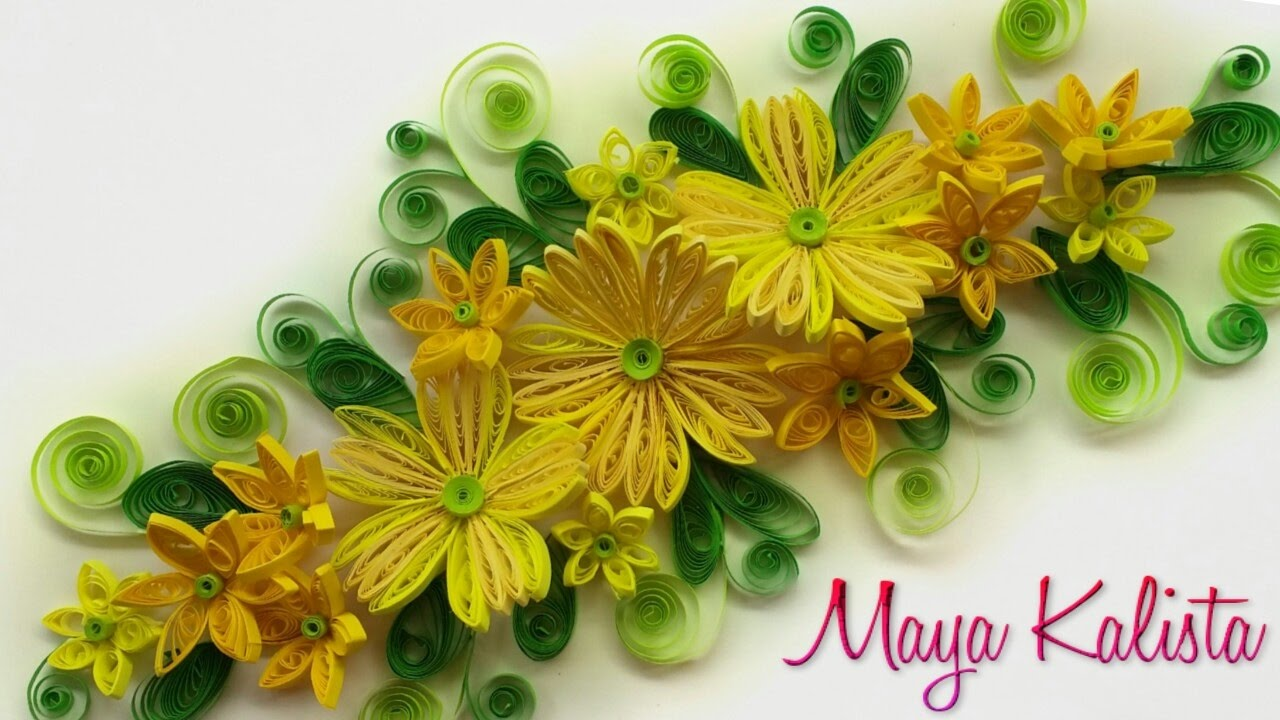 Diy Crafts How To Make Diy Paper Quilling Frames Latest Handmade