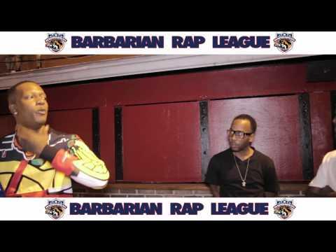Juden Vs Flawless Barbarian Rap League Battle