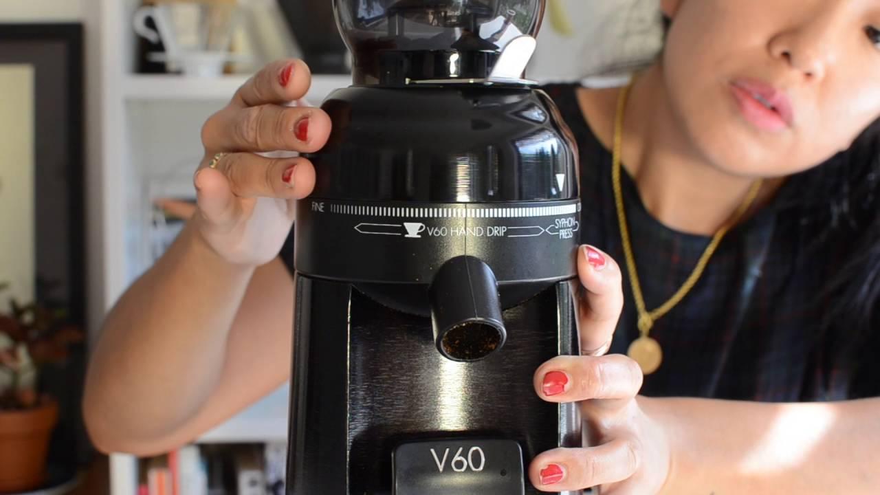 Hario V60 Electric Coffee Grinder
