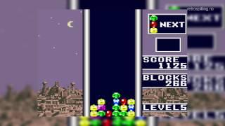 Gameplay: Columns (Sega Game Gear, 1991)
