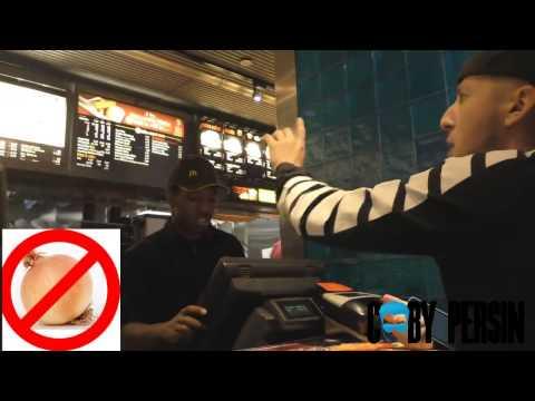 Rap do Hi-Rez no McDonald's