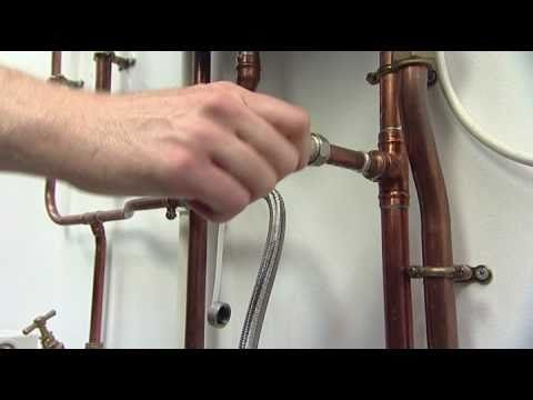 How to Repressurise a Heating System with an External Filling Hose ...