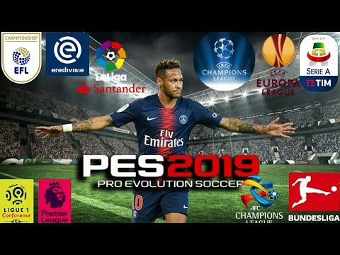 FTS 19 Mod PES 2019 Edition Android Offline 300mb best Graphics New Update  APK DATA & OBB